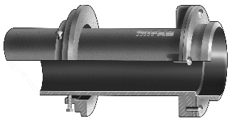 R1640 Series Parapet Scupper Sleeve