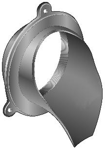 R1940 Series Downspout Nozzle