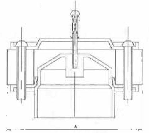 Model Bv1253 Bv1250 Series Backwater Valves With