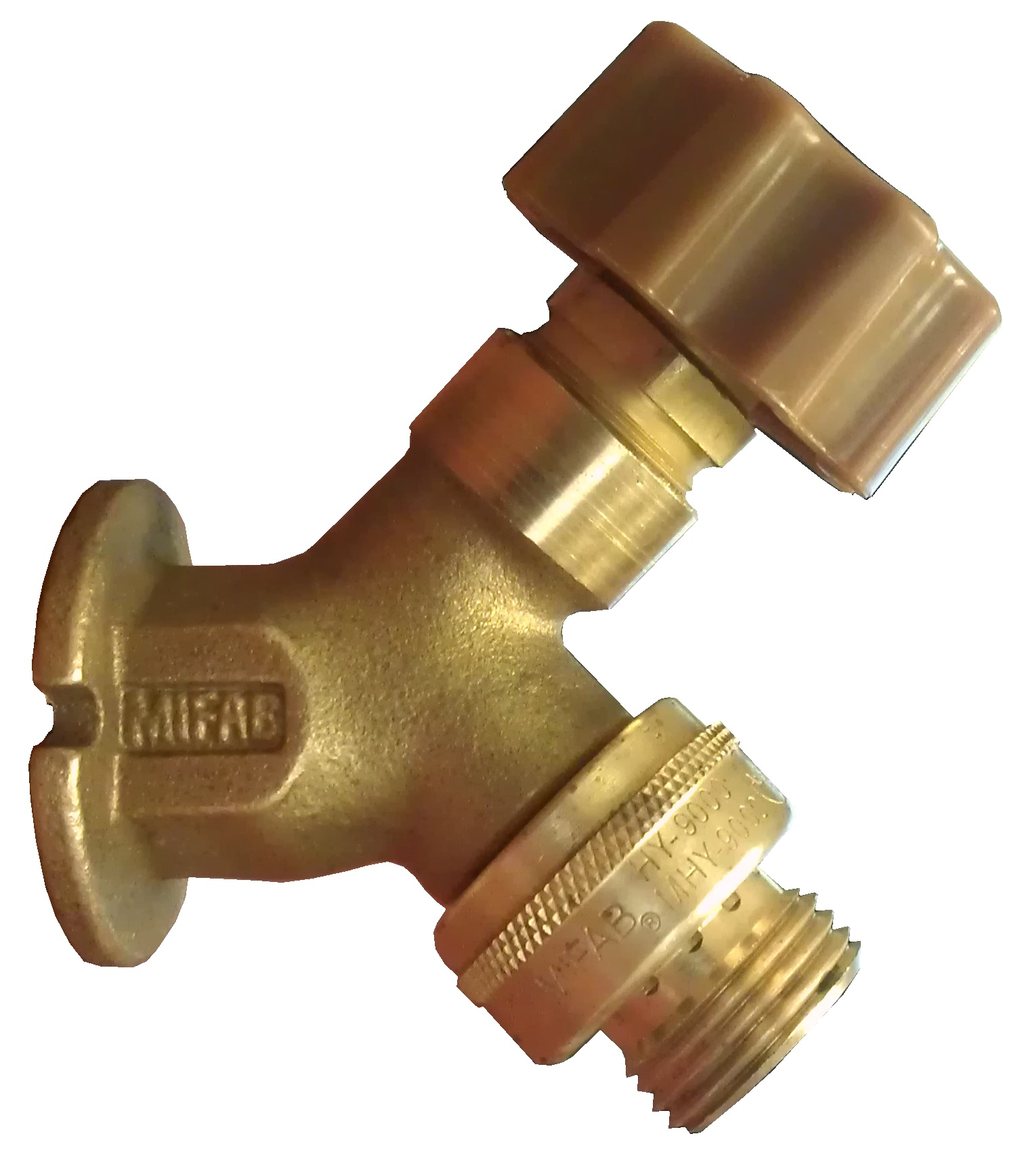 Mhy 90 Series Rough Brass Wall Faucet