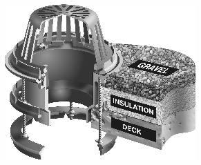 R1220 Eu Series Medium Sump Extension Roof Drains For 1