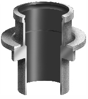 R1850 Series Vent Stack Flashing Sleeve