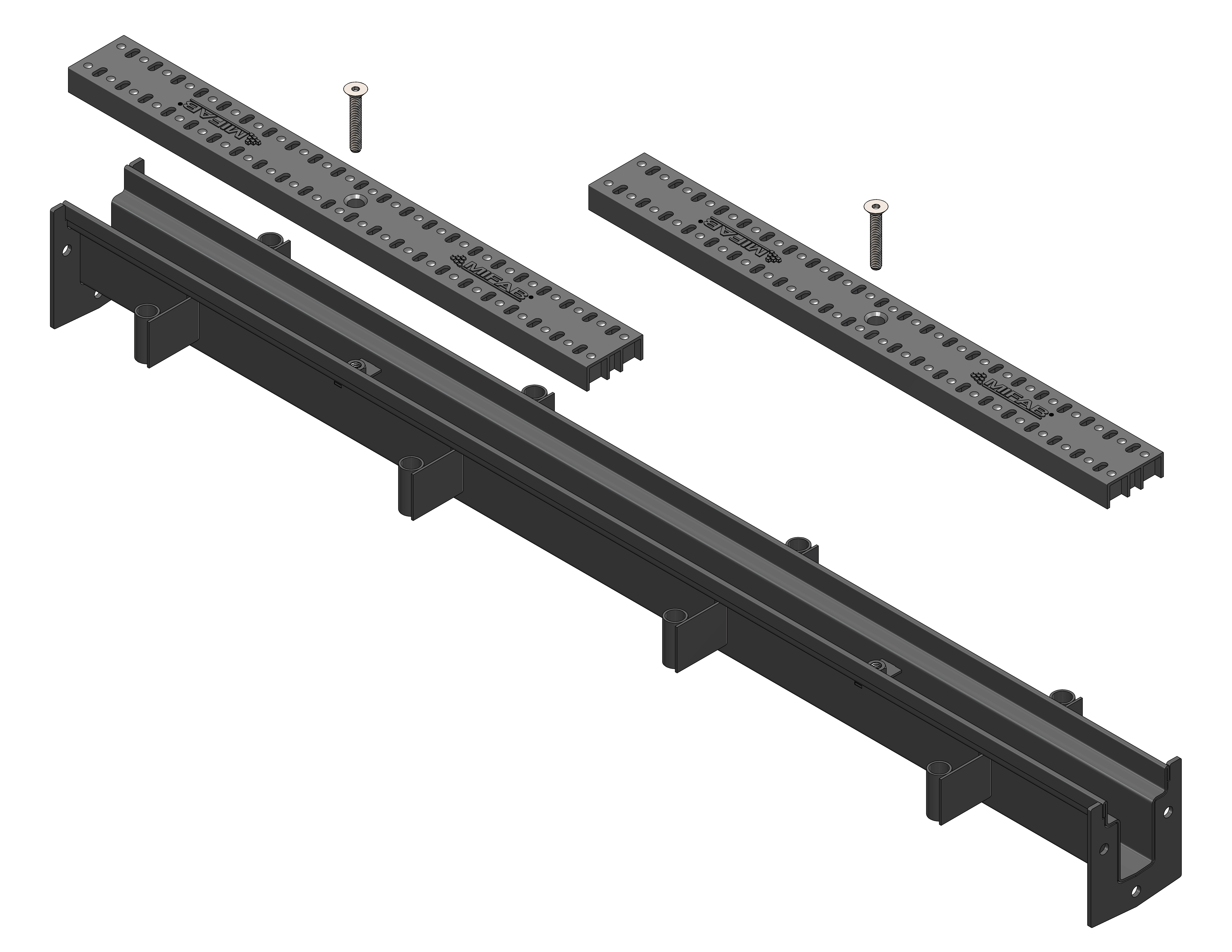 T250 2 1 2 Quot Wide 3 Quot Deep Trench Drain Body And Grate System