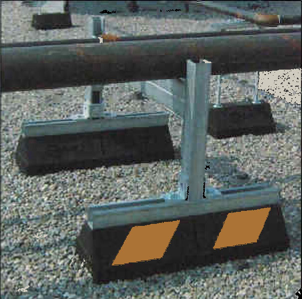 Model Cesh20 1624 Cesh Series Roof Pipe Supports Heavy