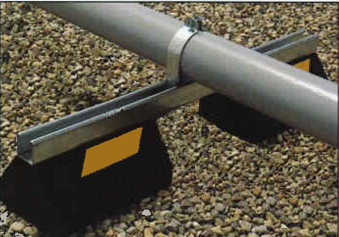 Model Cb10 28 Cb Bridge Series Roof Pipe Supports
