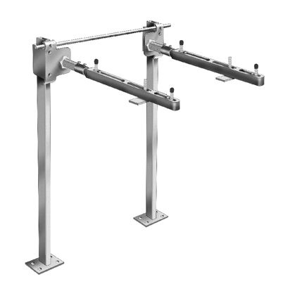 Mc 41 Series Fixture Carrier With Concealed Arms