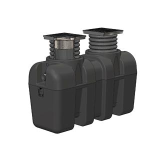 BIG-OS BIG MAX HDPE Oil/Sediment Interceptor