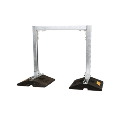 CESW Widebody Hanging Pipe Rubber Support
