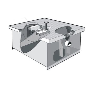 MI-E-G Electronic Grease Interceptor