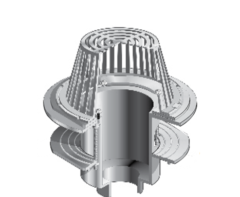 R1250 Extra Large Sump High Flow Drain