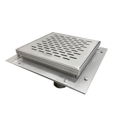 FS1930-FL Floor Area & Indirect Sanitary Waste Drain 12″ x 12″ x 8″ with Flange
