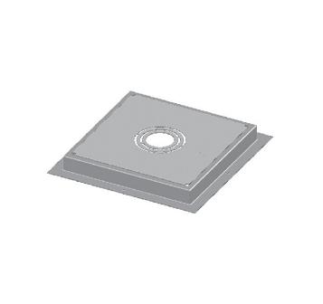 FS1960 Floor Sink Installation Stabilization Plate 12″ x 12″