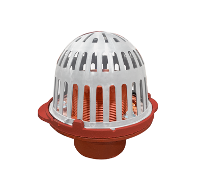 R1100-F Small Sump Roof Drain with Parabolic Weir