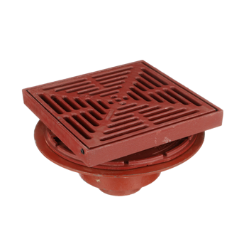 R1200-PR15 Large Promenade Deck Drain with 15″ Square Top