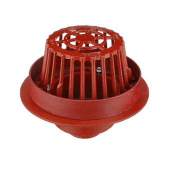 R1200-R Large Sump Roof Drain with Water Dam