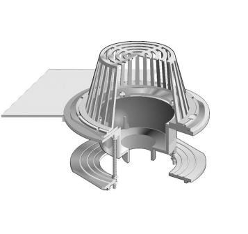 R1200 Large Sump Roof Drain