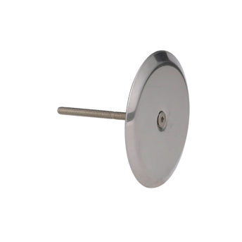 C1400-RD Stainless Steel Round Cover with Screw