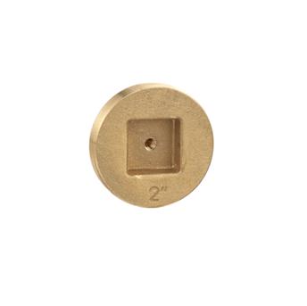 C1430 Recessed Head Bronze Line Cleanout Plug