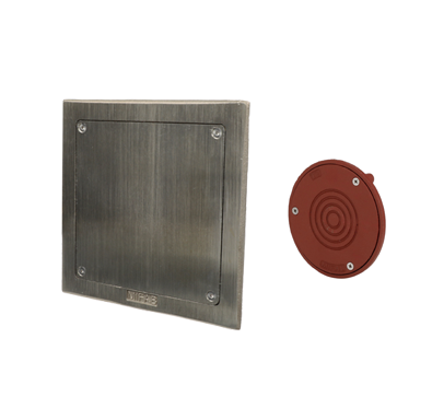 C1450-S Line Cleanout with Square Wall Access Panel