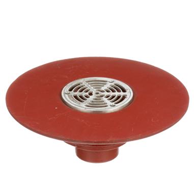 F1100-C-Z Floor Drain with Elastomeric Flange for Membrane Floor Areas