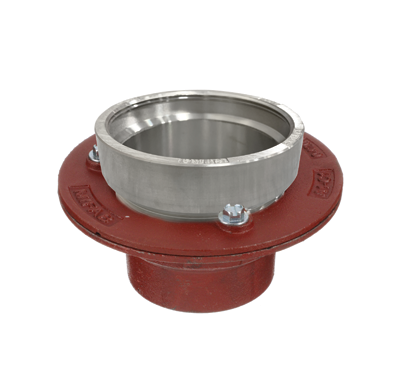 F1100-C-DD Drain with Angle Strainer