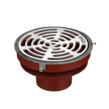 F1100-N Floor Drain with Tractor Grate