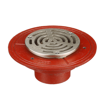 F1100-X Floor Drain with Heavy Duty Strainer For Non-Membrane Floor Areas