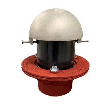 F1100-C-W(D) Overflow Drain with Standpipe (Optional Dome)