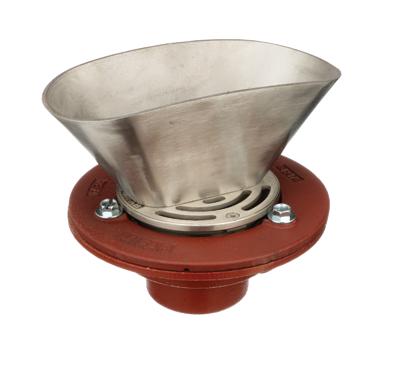 F1100-C-EG Oval Funnel Floor Drain