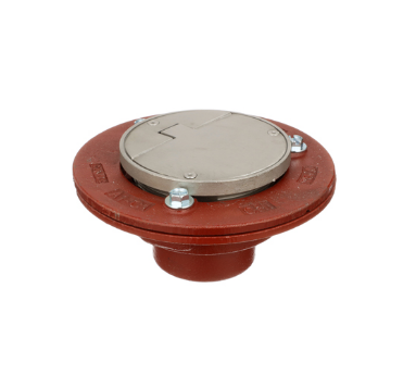 F1100-C-VD Floor Drain with Solid Hinged Round