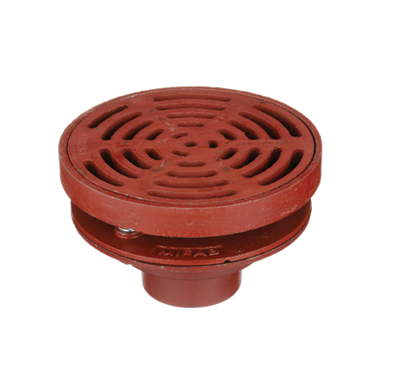 F1300-C Drain with 7″ Adjustable Heavy Duty Tractor Grate