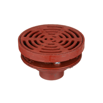 F1320-C Drain with 9″ Adjustable Tractor Grate