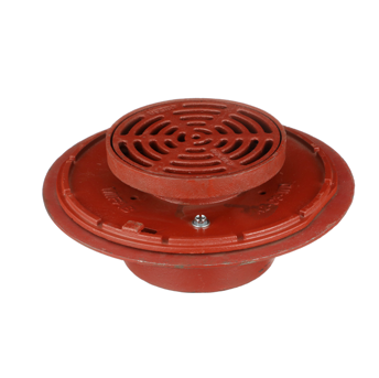 F1330C Drain with 9″ Tractor Grate and Deep Sump