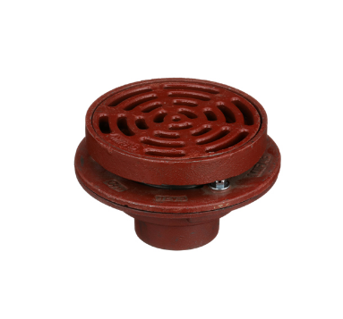 F1340-Y-Q Drain with 12″ Tractor Grate