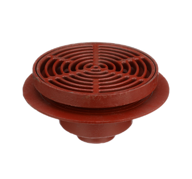 F1340 Drain with 12″ Adjustable Tractor Grate