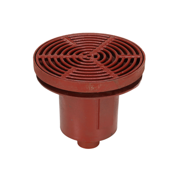F1370 Drain with 16″ Adjustable Tractor Grate and Extra Deep Sump