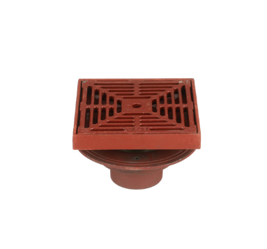 F1420-C Drain with 8″ Adjustable Tractor Grate