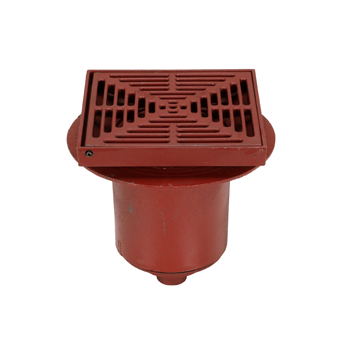 F1450 Drain with 12″ Adjustable Tractor Grate/Extra Deep Sump