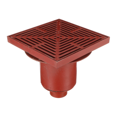 F1470 Drain with 12″ Adjustable Tractor Grate/Extra Deep Sump