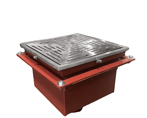 F1480(-FL) Drain with 12″ Heavy Duty Tractor Grate/Deep Sump