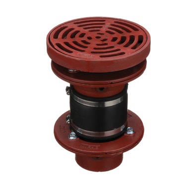 F1620-C Drain with Adjustable Strainer Tractor Grate