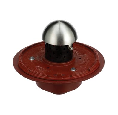 F1830-PL Large Planting Area Drain with 8″ High Perforated Standpipe and Dome