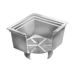 F1870 Open Drain with Loose Bottom Grate