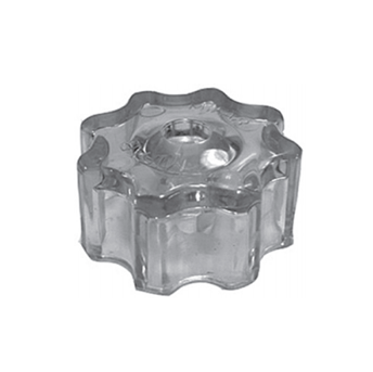 HY-9002 Clear Plastic Wheel Handle Only