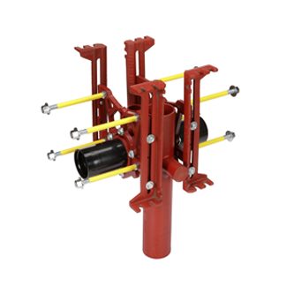 MC-15D Double, Fixed, Offset From Stack Water Closet Carrier