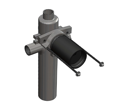 MC-26 Single Stack Fitting for Floor Mounted Back Outlet Water Closet