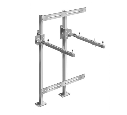 MC-41-TR Single Carrier with Concealed Arms and Measuring Plates