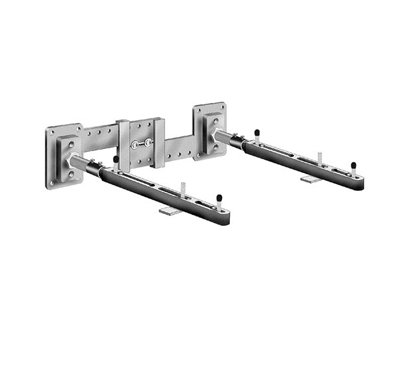MC-51 Single Carrier Wall Mounted Lavatory Support with Concealed Arms