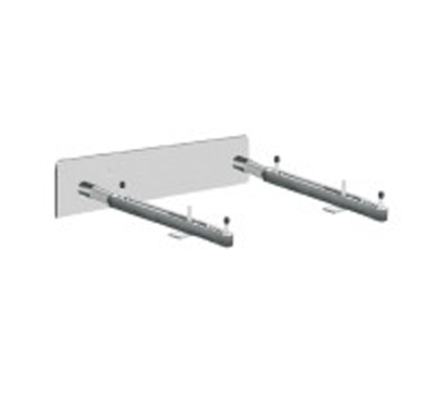 MC-54 Single Wall Mounted Lavatory Support with Concealed Arms