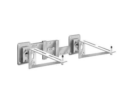 MC-56 Single Wall Mounted Lavatory Support with Exposed Arms